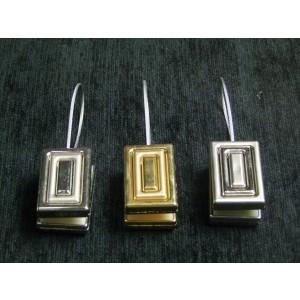 Magnetka vo farbe kovu - obdĺžnik