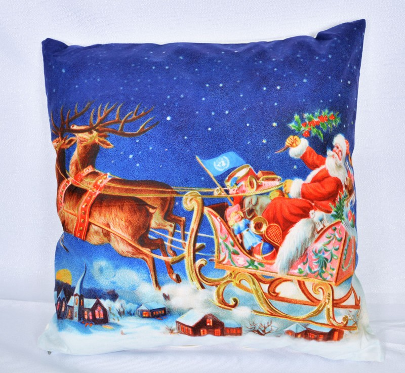 Vankúš Santa a soby