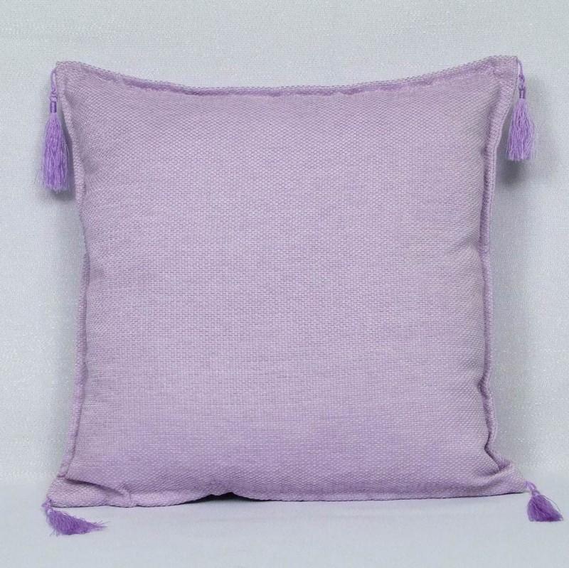 Dekoračny vankúš -poťah fialkový