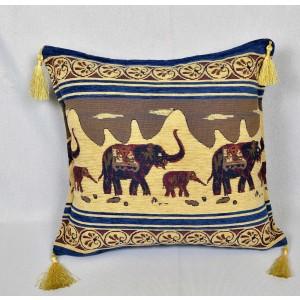 Vankúš Orient slon bledý-poťahová látka