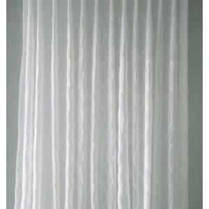 Záclona strihaná vyšívaná