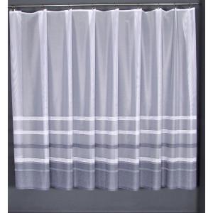 Záclona Pásy sivé