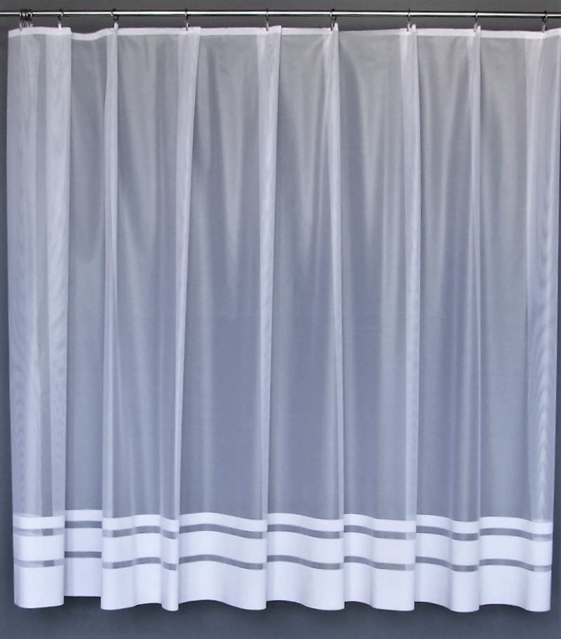 Záclona Pás biela