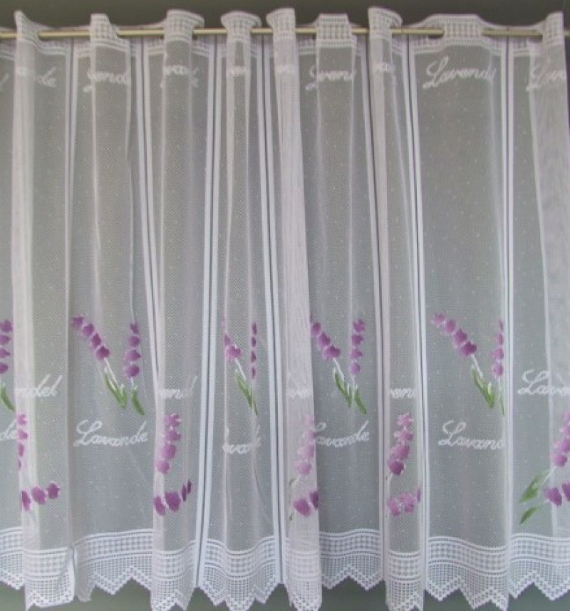 Záclona Levandula